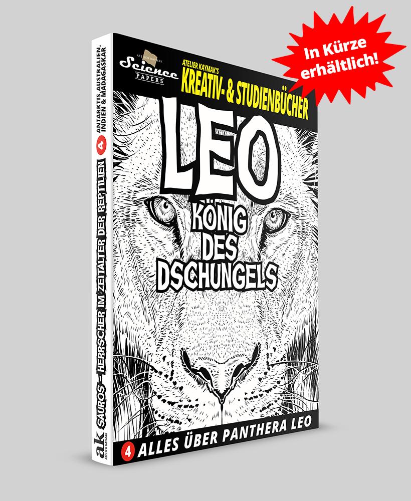 Buchausgabe Leo - Koenig des Dschungels
